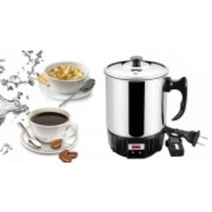 Electric Kettle Silver 1