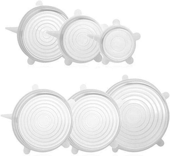 Kitchen Reusable Silicone Stretch Seal Lid3