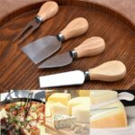 4-Piece Set Of Tools Bard Set Handle Cheese Knife Slicer 1