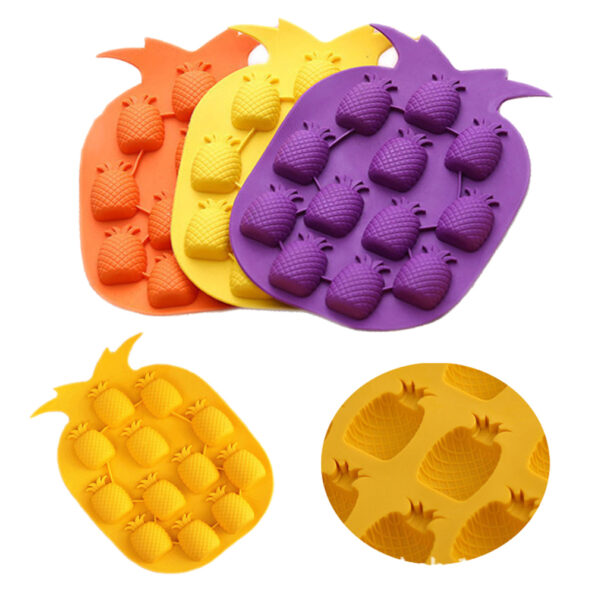 Pineapple Silicone Ice Cube DIY Mold1