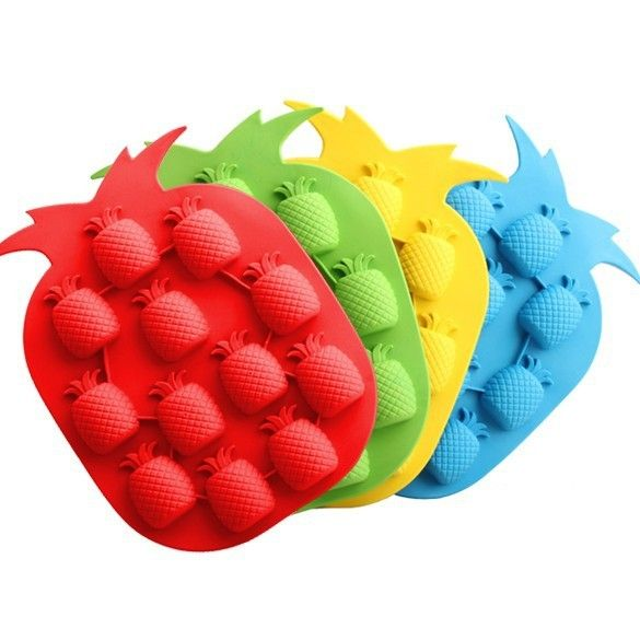 Pineapple Silicone Ice Cube DIY Mold2